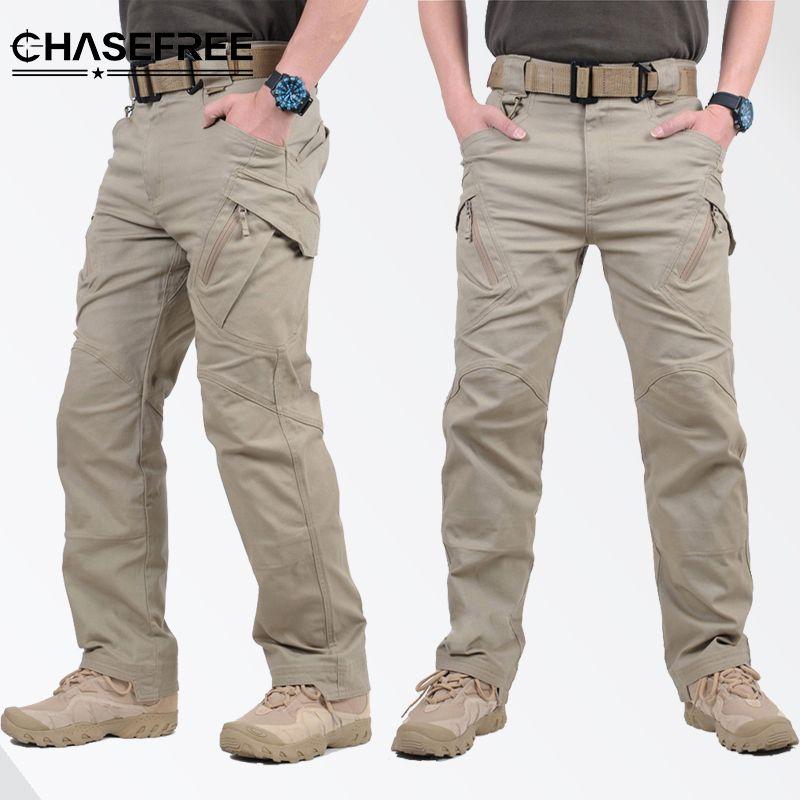 2019 Ix9 Tactical Men Pants Combat Trousers Army Pants Men Cargo For