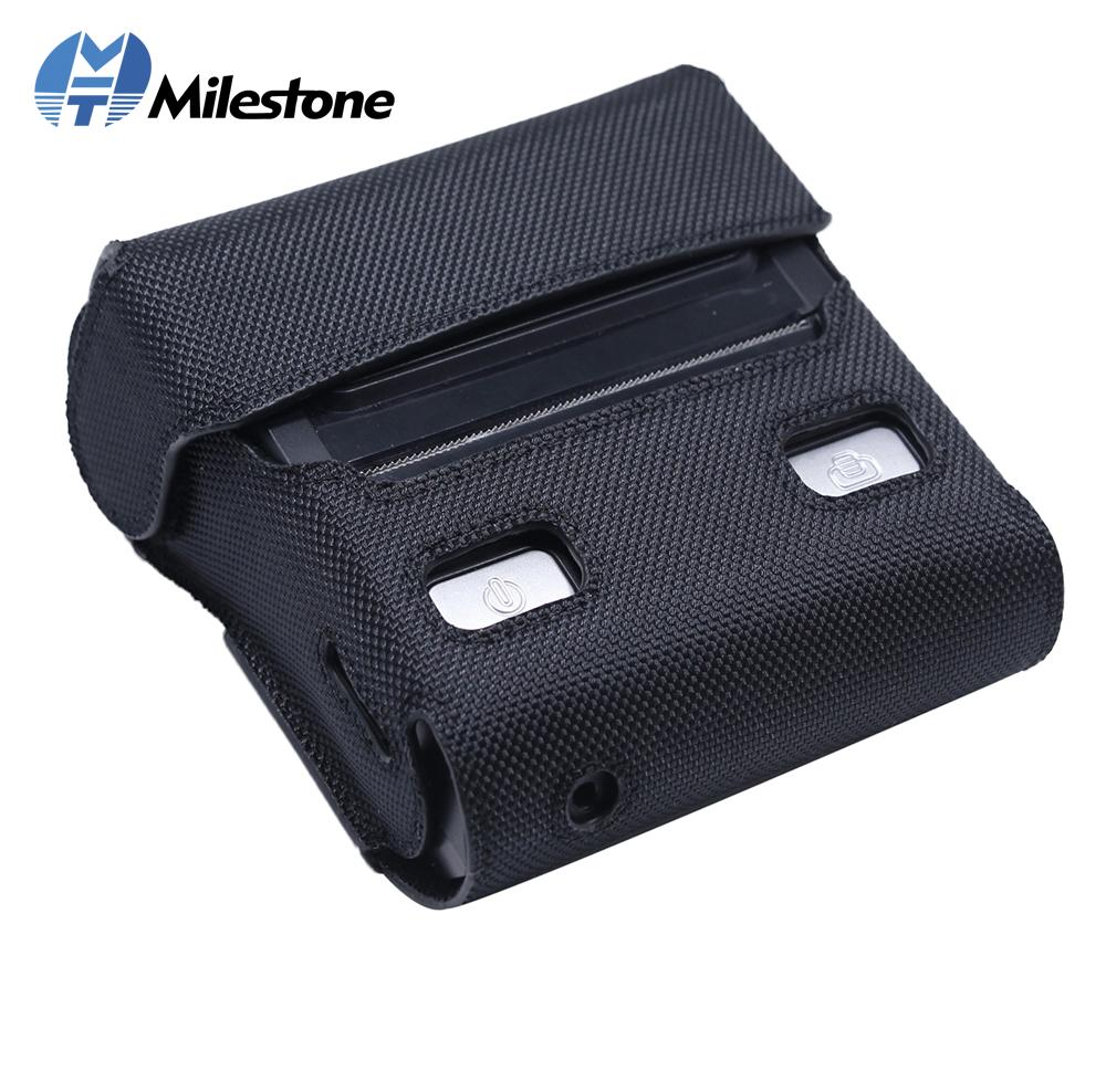 finest selection cd2ea c9a6e Milestone Cases for Thermal Bluetooth Printer MHT-P8001 Mobile Printer Case  Light Black Case Free Shhipping