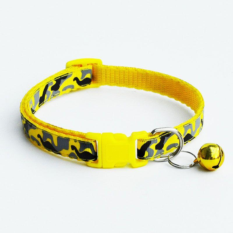 Camuflaje Poliéster Cachorro de perro Cachorros de gato Colores múltiples con campana para mascotas Animales pequeños Mascotas Suministros ZA6120