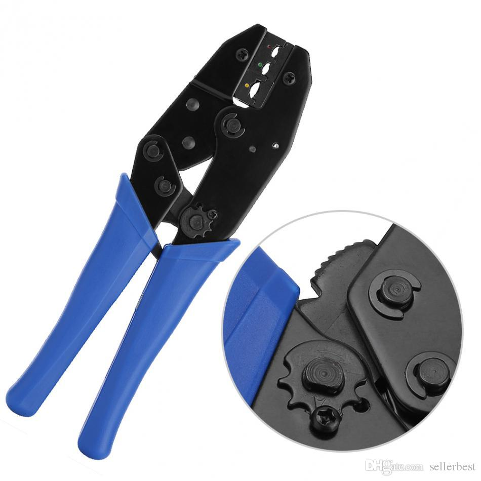 غير معزول محطات العقص أداة سلك صافي المكشكش أدوات تجعيد المتعريات أداة شبكة اليد