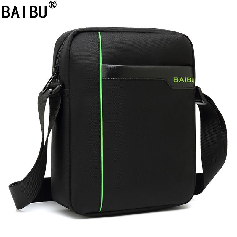 2ce6414acc9b BAIBU New Arrivals Mark Ryden Casual Messenger Bags Waterproof Flap Pocket  Men's Crossbody Bag Single Strap Shoulder Bags
