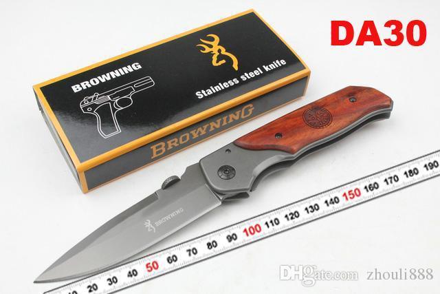 Browning AT-11 X50 X49 354 DA30 X23 CORTE Counter strike Resgate Bowie Knife Camping Caça Resgate Faca Tático caça camping faca