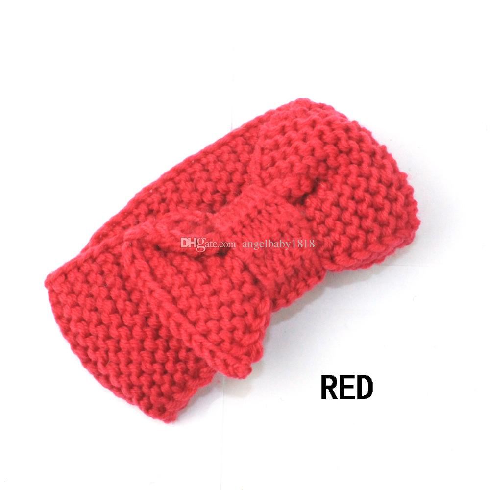 Hairbands Children Baby Girl Princess Knitted Elastic Photo Props Head bands 9 Styles Headband Hair Accessories