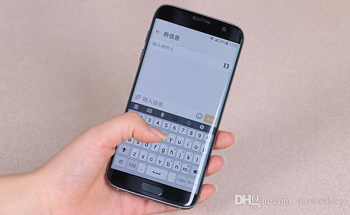 Remodelado samsung galaxy s7 s7 borda g935f g935v smartphone 5.5 '' 4 GB RAM 32 GB ROM Único SIM NFC 12MP 1080 P 4G LTE Telefone Móvel