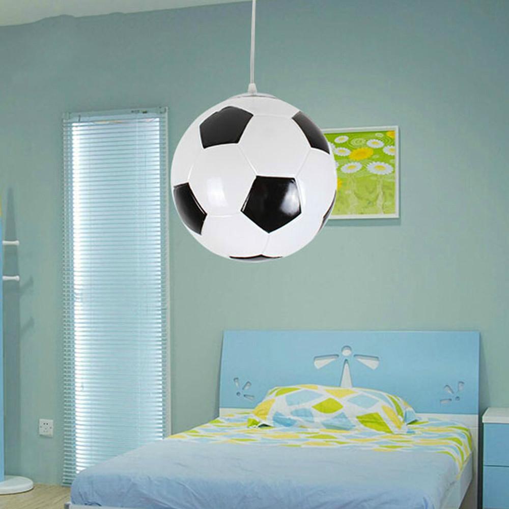 Grosshandel Fussball Pendelleuchte Fur Kreative Kinder Schlafzimmer