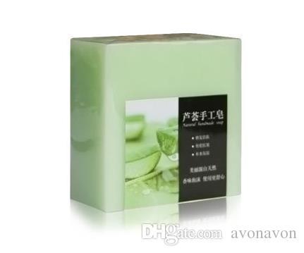 bon marché Charbon de bambou de fruits fait main de savon authentique de savon de Matcha de savon à la lavande parfumée de savon à l'huile de savon de savon cosmétiques A389