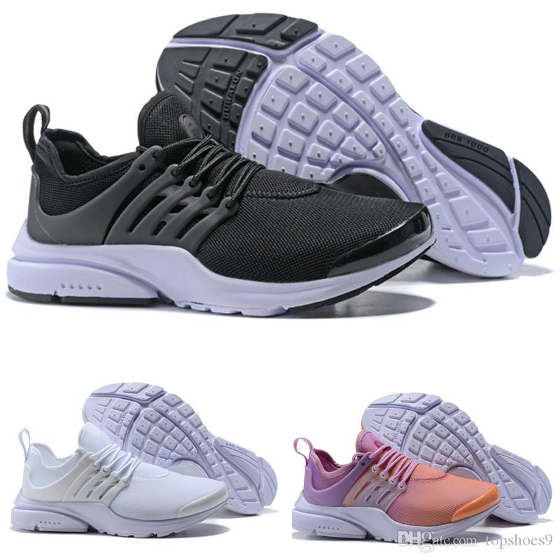 purchase cheap 698a9 9c6c4 2018 hot sports Presto Running Shoes Men Women Presto Ultra BR QS Yellow  Pink Oreo Outdoor Fashion Jogging Sneakers Size EUR 36-46