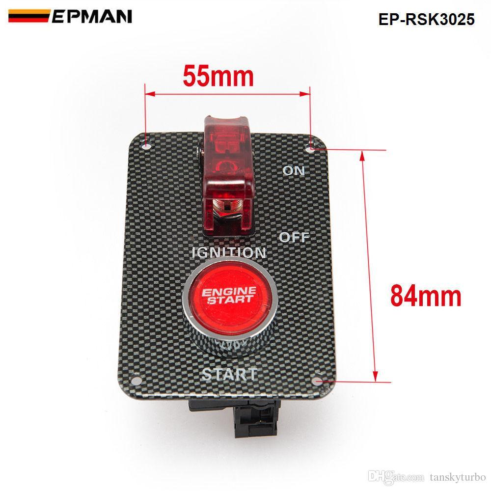 Tansky Racing Switch Kit 차량용 전자 제품 / 스위치 패널 - 플립 - 업 / 점화 / 유니버설 들어 액세서리 TK-RSK3025