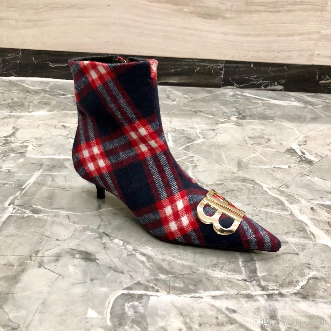 100% authentic ef37e c84c5 Deutscher Luxusschmuck B @ ULLY neue Mode Damen Business Schuhe Martin  Stiefel Damen High Heels Originalverpackung