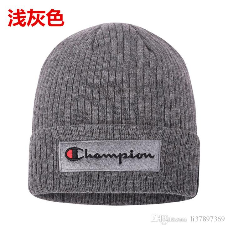 09adeda3e8d 2018 Luxury Brand Han Edition Tide Earmuffs Cold Winter Hat Man Hat ...
