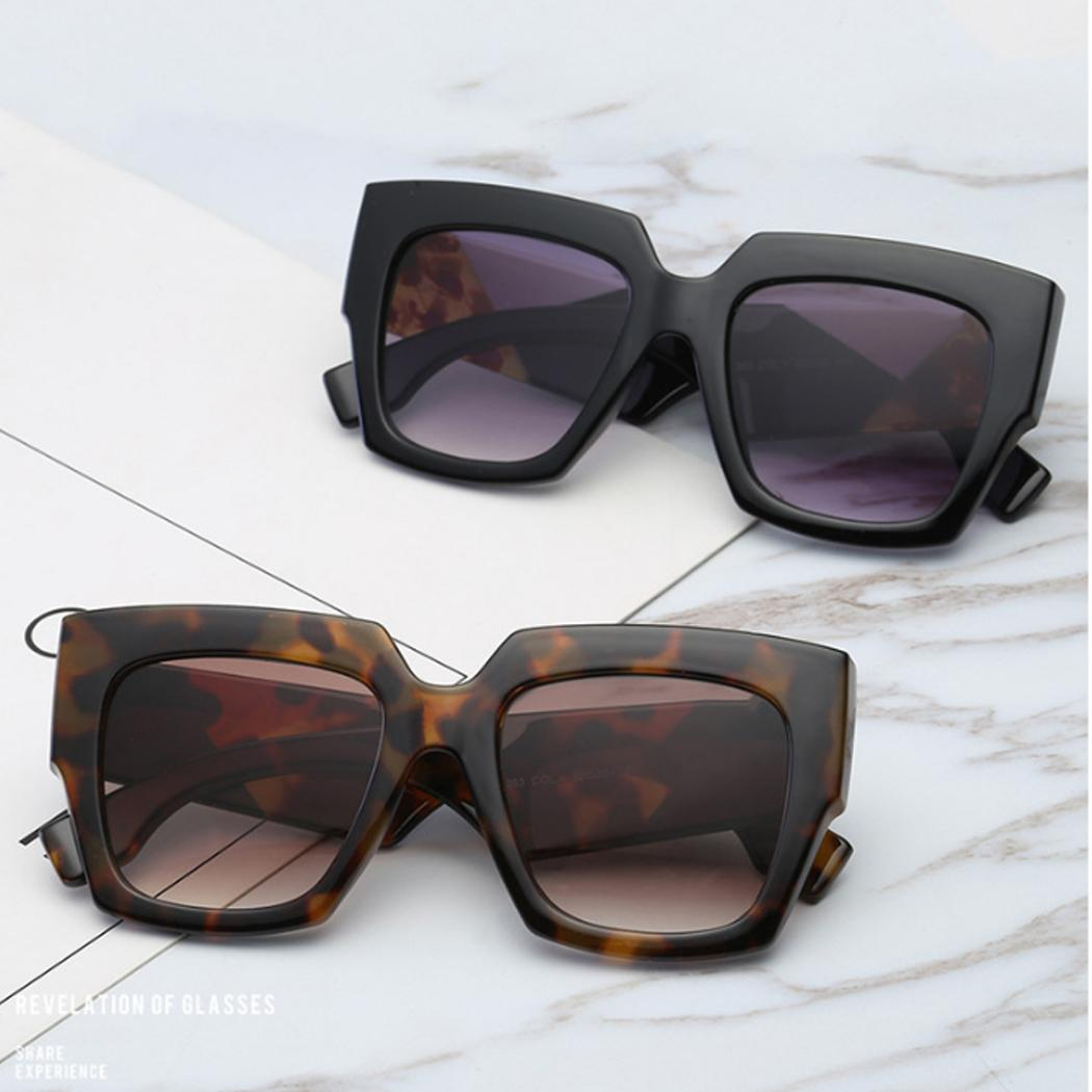 d453b830b7 2018 Luxury Designer Women Sunglasses Cat Eye Oversize Square Shaper Clear  Lens Sun Glasses Fashion Lady Eyewear New De Sol Vintage Sunglasses Super  ...