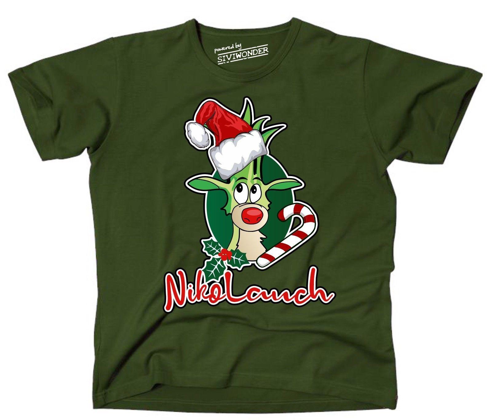 2018 New Fashion T Shirt Brand Hip T Shirt Lauch Nikolauch Nikolaus
