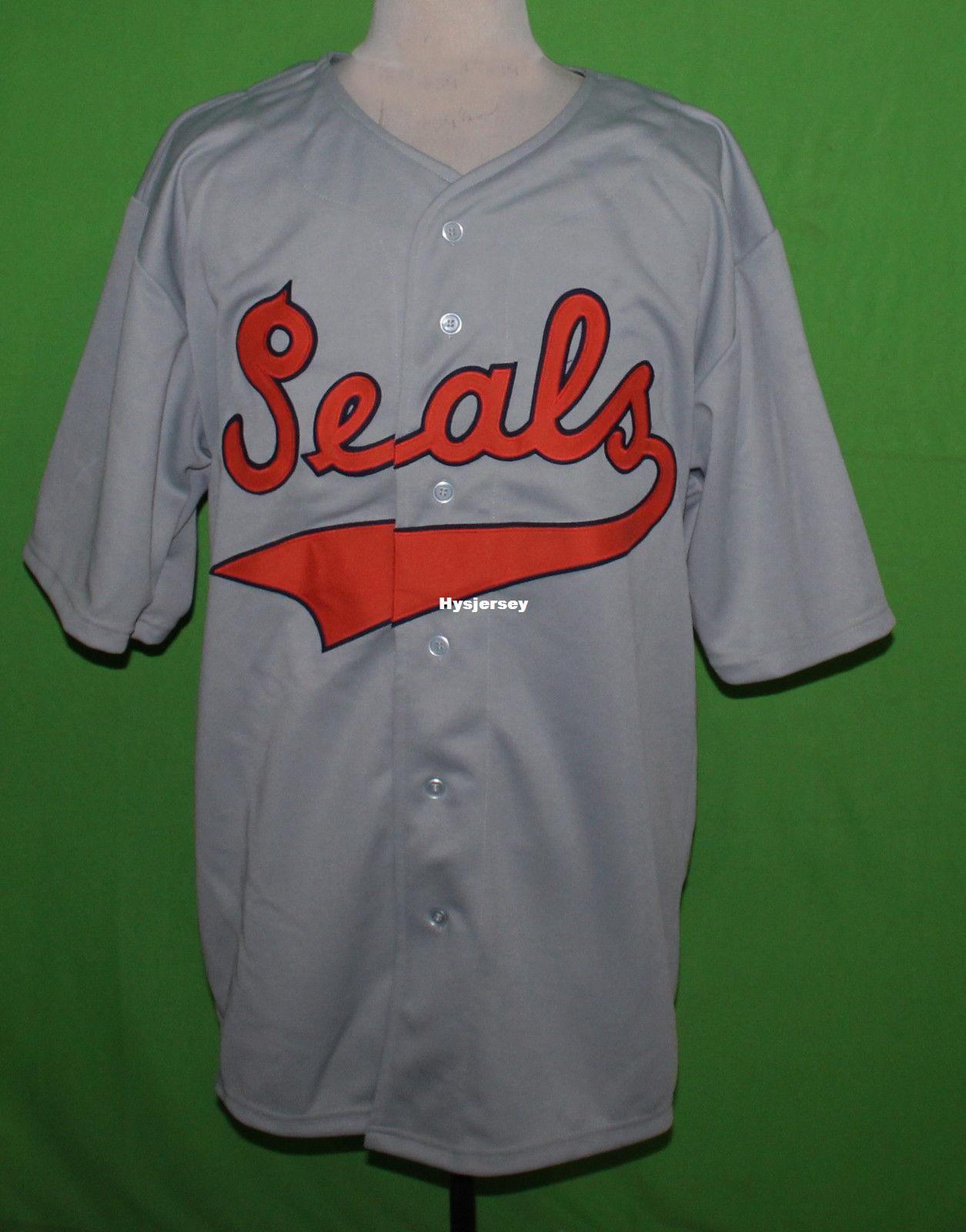 2019 Cheap Retro San Francisco Seals 1938 Road Baseball Jersey Or