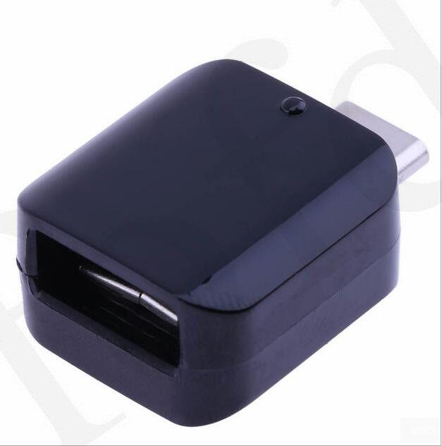 USB Erkek C Tipi Yepyeni Orijinal Orijinal S8 OTG Adaptör USB Konektörü Samsung Galaxy C9 S8 Artı 50 Adet