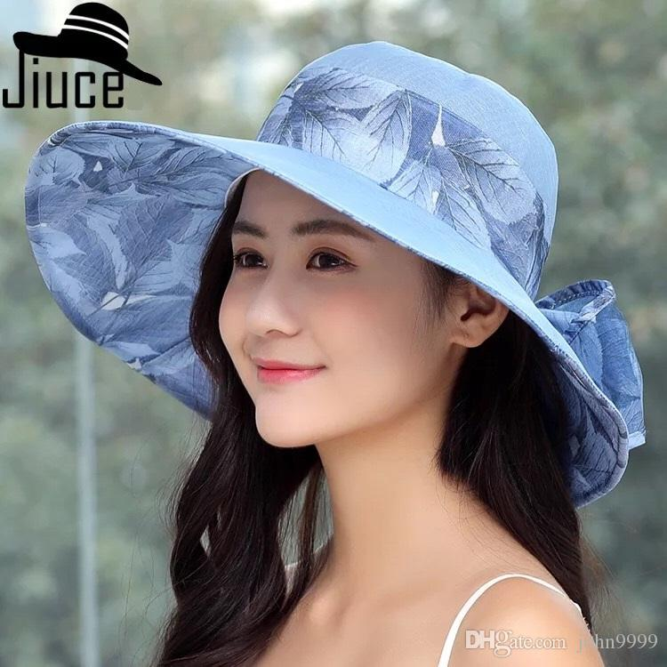 ad29c55e9d3 New Summer Travel Cool Hat Ladies Foldable Wild Sun Visor Fashion ...