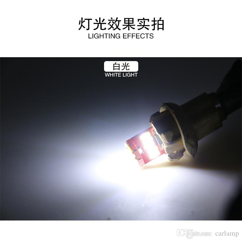 Canbus t10 Car Auto LED 194 W5W 15SMD T10 4014 Wedge CANBUS OBC ERROR FREE Light Bulb Lamp High quality 12v