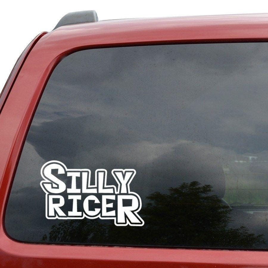 2019 car styling for silly ricer jdm vinyl decal sticker car window truck decor from redchinatown 1 01 dhgate com