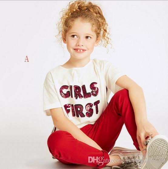 16 أنماط بنين فتاة أطفال تي شيرت 100٪٪ قصيرة الأكمام الكرتون زهرة طباعة الطفل السببية الصيف أعلى 4-10T السفينة حرة