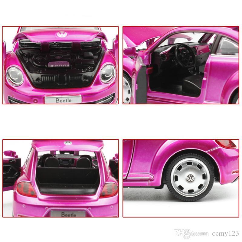 Alloy Car 1:32 Die Cast Model,15 Cm Metal Toy Car#3204, Nice Painting Light N Music Function Pull Back Open Door