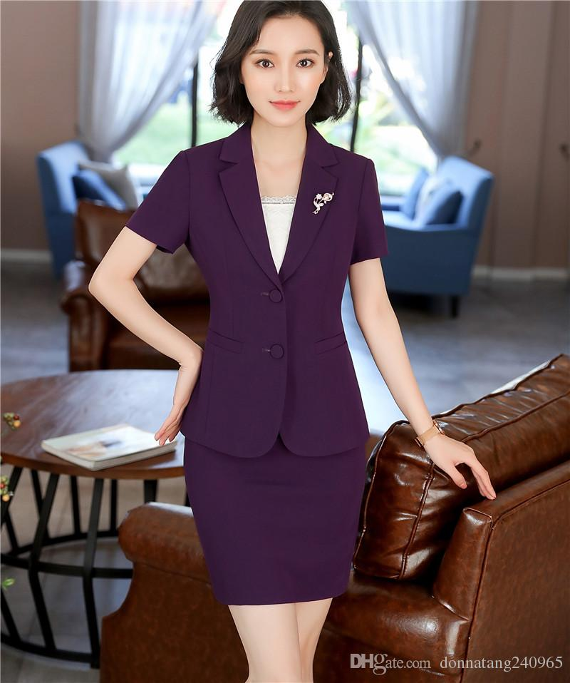 2018 Summer women formal blazer plus size jacket female Korean Slim Patchwork temperament commuter short sleeve blazer