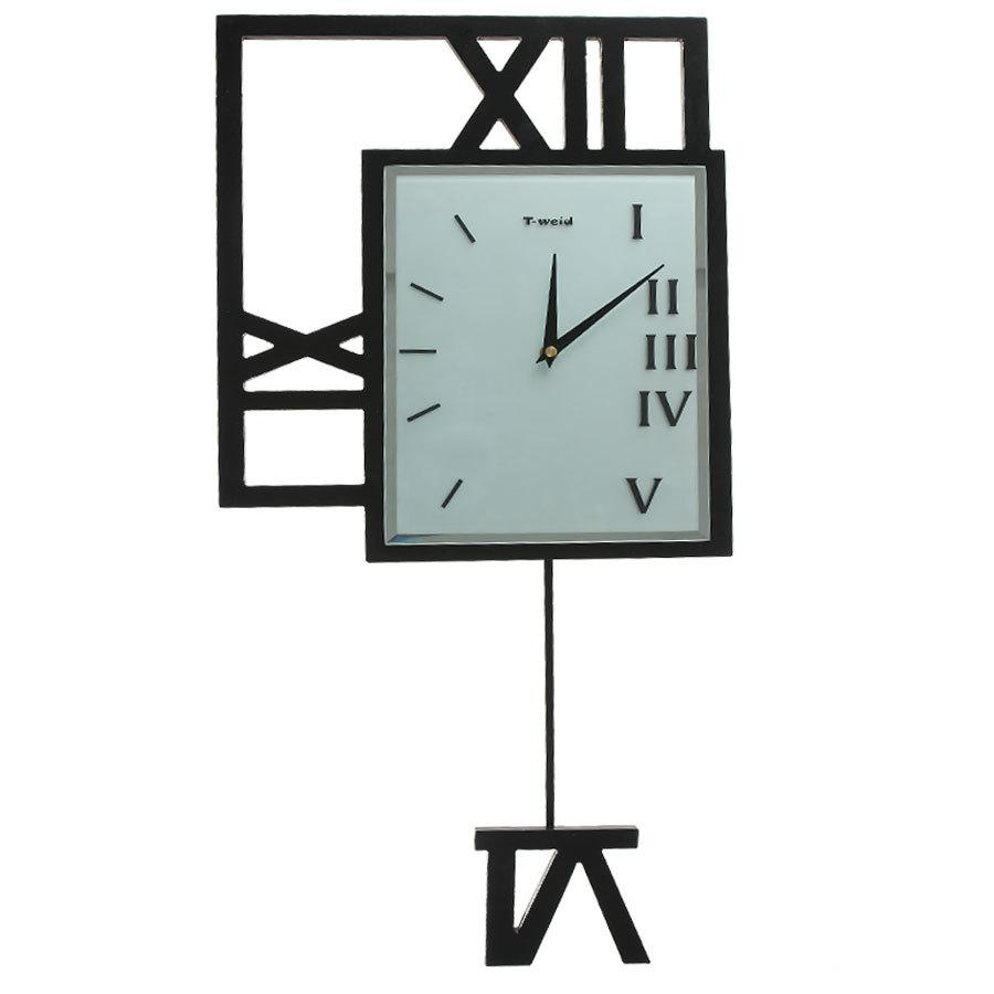 Fashion Modern Large Wall Clocks Quieten Pendulum Clock Personality Roman Numerals For Walls From Sheiler 922