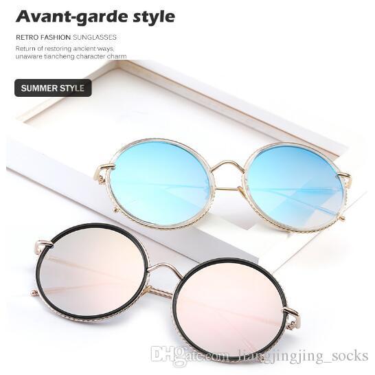 0800515a96 Unique Twist Sunglasses Women Brand Designer Fashion Sunglasses Round Metal  Fashion Glasses Female Summer Eyewear CCA9229 Sunglasses Brands Best  Sunglasses ...