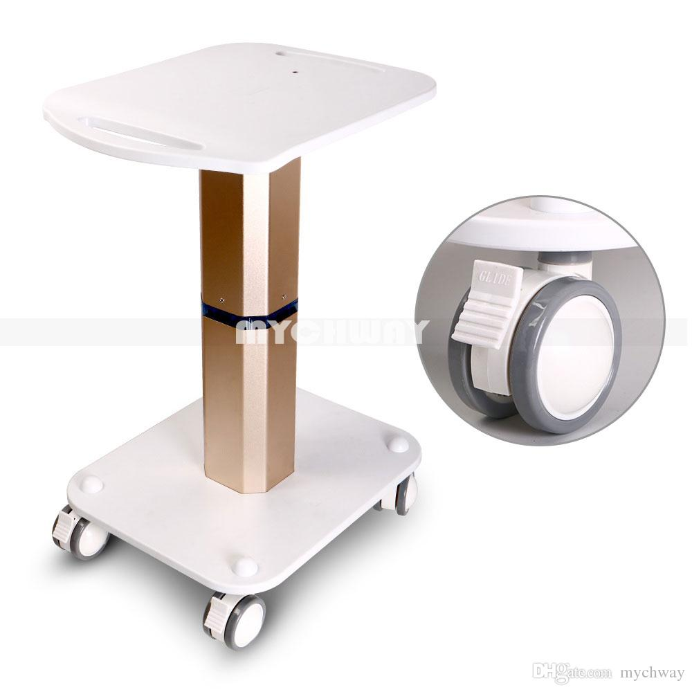 Convenient Rolling Cart Roller Wheels Assembled Trolley Stand for  professional salon display Styling Pedestal Roller Trolley