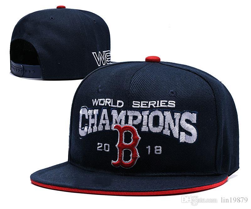 New Fashion RED SOX 2018 WORLD SERIES CHAMPIONS Adjustable Baseball Hat Hip  Hop Snapback Cap For Men Women Caps Gorras Bones Trucker Hat 59fifty From  ... d0071109a7e