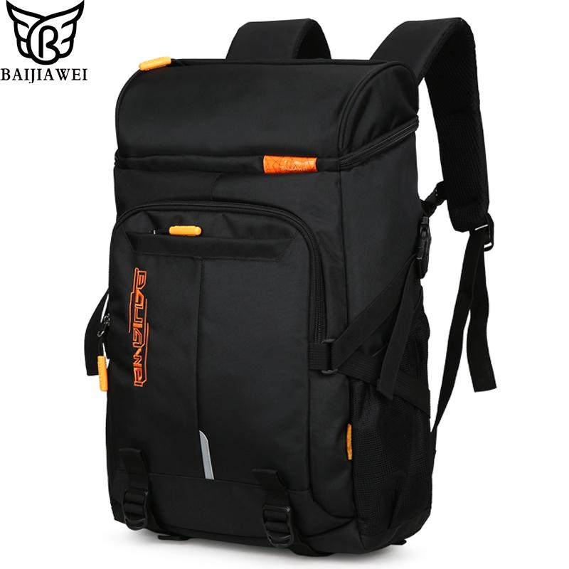 24e767eb18dc BAIJIAWEI Hot Sale Big Capacity Men S Backpacks Travel Backpack For Men  Women Laptop Bag Casual Daily Backpack Business Bags Gregory Backpacks Army  Backpack ...