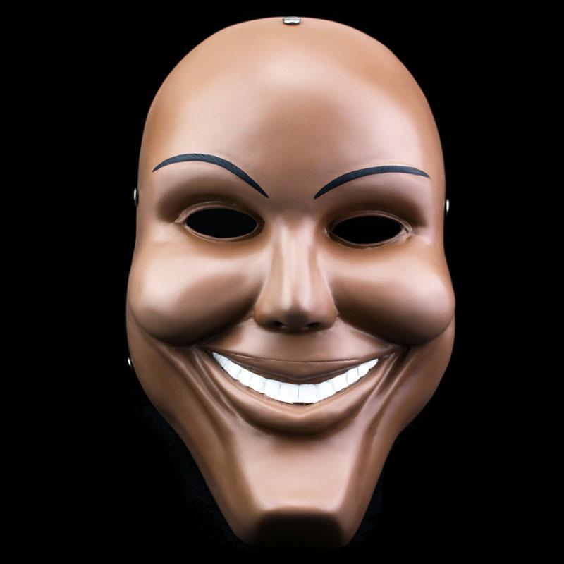 Acheter La Purge Thème Halloween Masque Sourire Humain Visage Partie