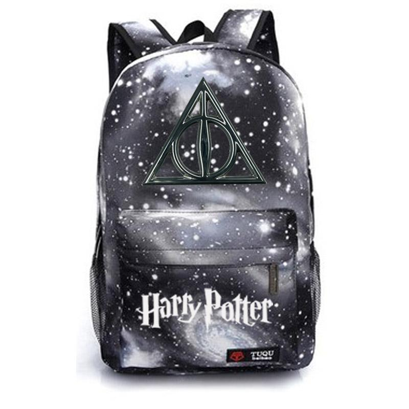 Harry Potter School Bag Backpack Student School Bag Notebook ... 577a93e50b521