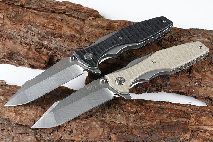 Zero tolerance knives ZT 0393 Tactical pocket folding knives Bearing knife  camping knife 8cr13mov blade G10 handle