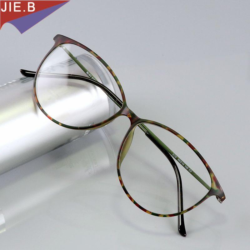 2f7bcd3fd7c 2019 Fashion Cat Eye Glasses Frames Brand Design Vintage Cateye Eyeglasses  Frame Women Clear Lens Optica Eyewear Gafas De Sol Hombre From Zebrear