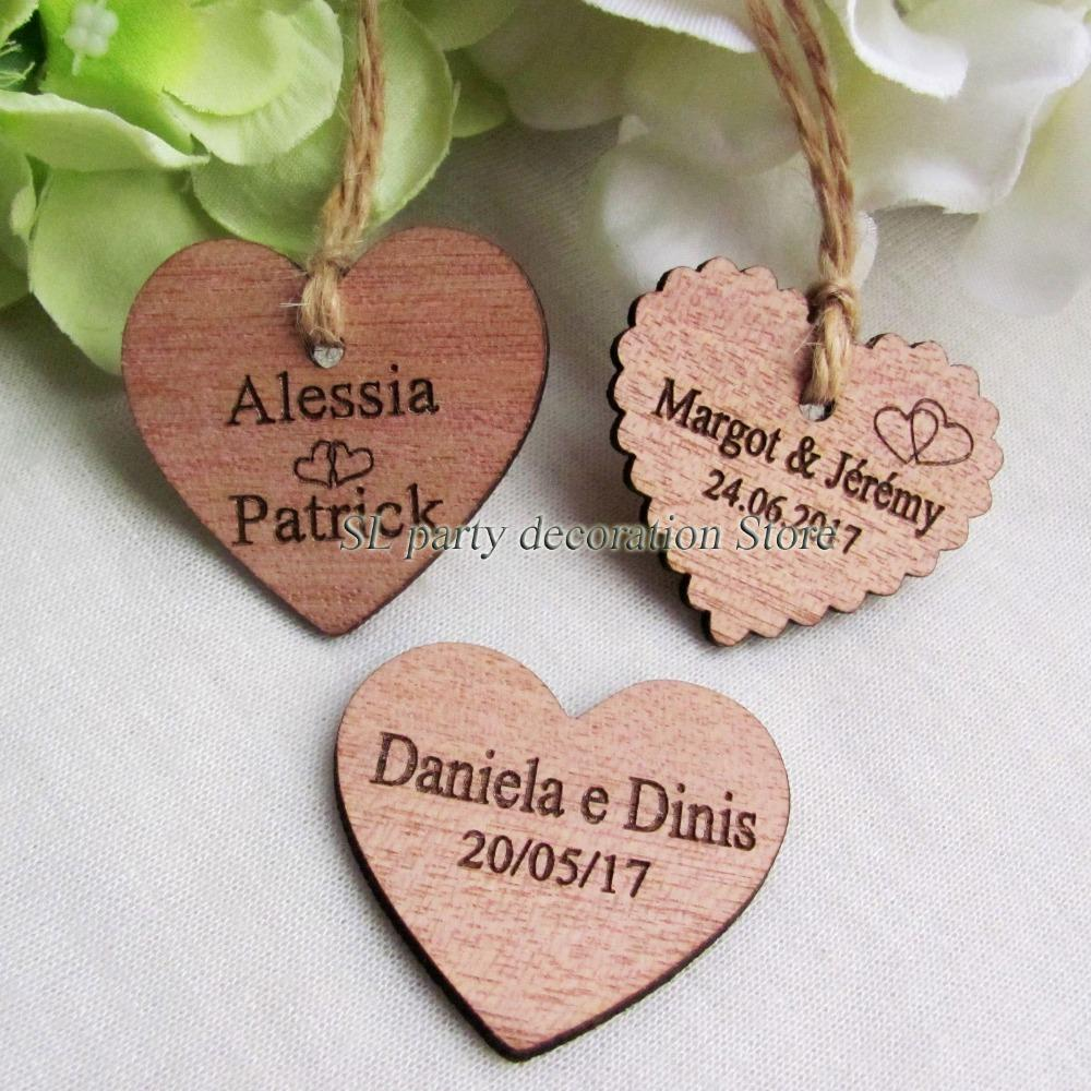 Vent Party Party Favors 3050personalized Engraved Wedding Name And