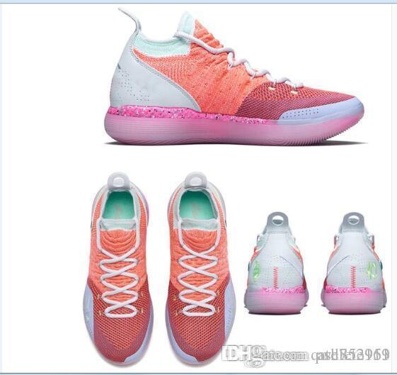 Kids KD 11 Multi Color Shoes For Sale Top Quality Kevin Durant ...