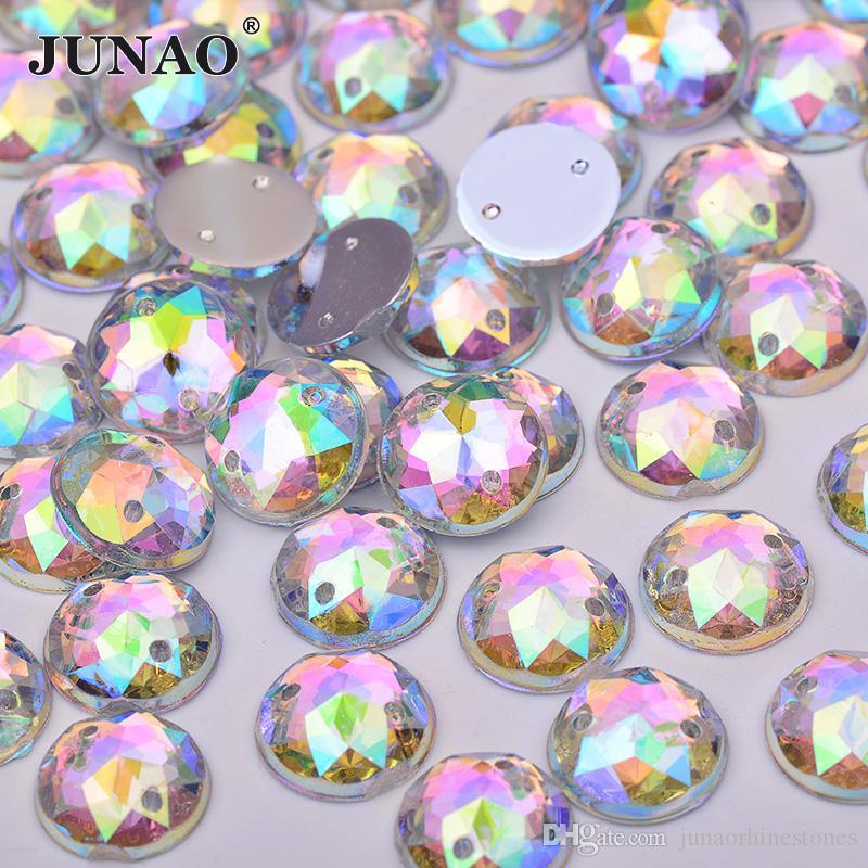 Küche, Haushalt & Wohnen 8 mm Rund Borten & Embellishments Strasssteine Schmucksteine zum Aufnähen Kristall klar 25 Stück
