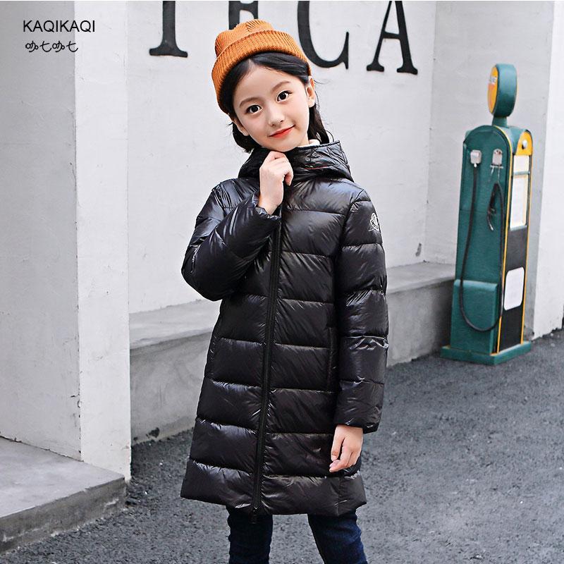 2a271010a Parent-child Down Jacket for Girl (Boy) Clothing Warm Coat 2018 Winter  Thicken Parka White Duck Down Children Women