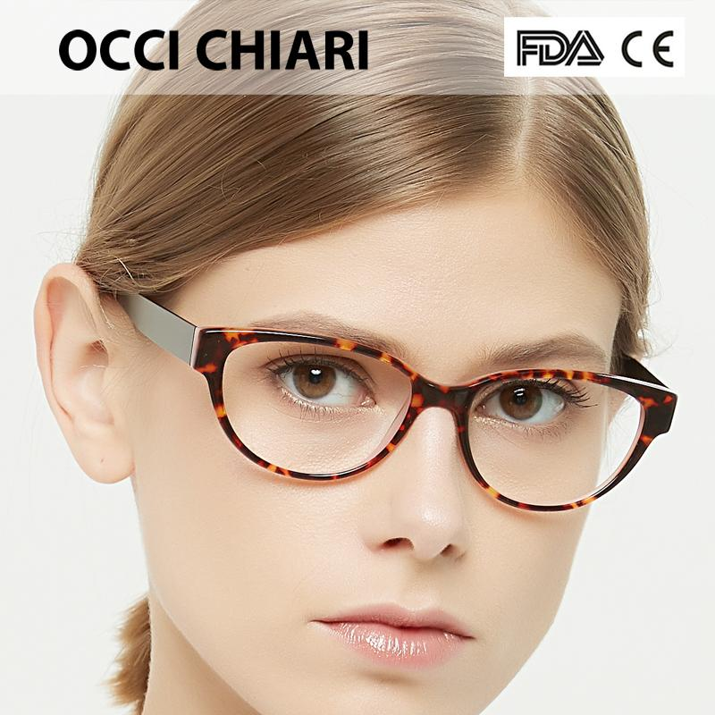 97c1038f9e 2019 OCCI CHIARI Optical Eyewear Optical Eyeglasses Women Prescription  Medical Glasses Frame Oculos Lunettes Gafas W COLOSSO From Kuanbao