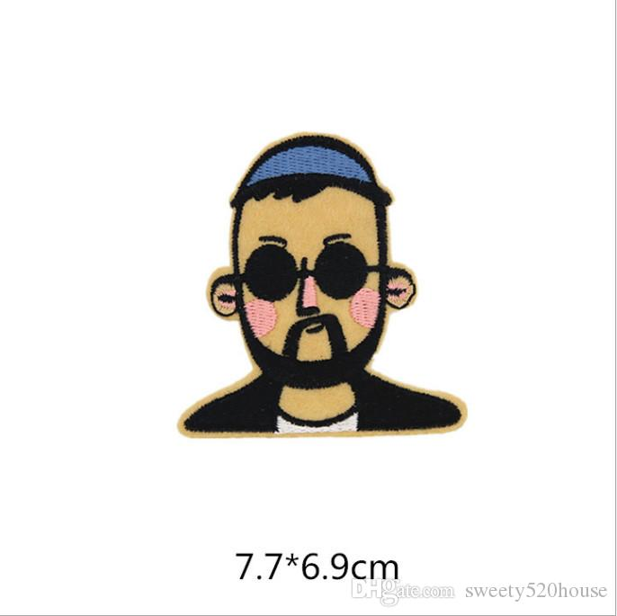 1 letter patching embroidery applique embroidered applique fabric embroidery garment small tape DIY garment accessories.
