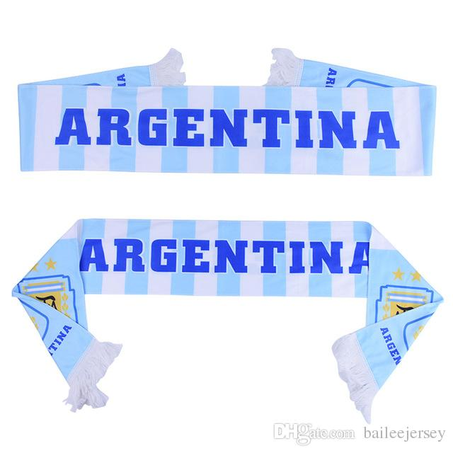 Best Russia World Cup 2018 Football Fans Scarf Of Argentina Soccer Fan  Scarf Argentina National Team Scarf Flag Banner Under $5.02 | Dhgate.Com