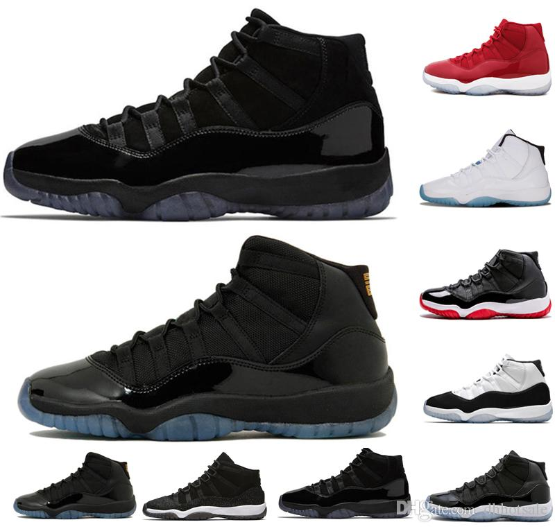 New 11 11s Cap And Gown Prom Night Men Women Basketball Shoes Gym ... 7bcac7d577b5