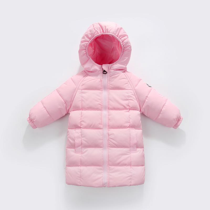 sale retailer 71e3b 867ea Piumino invernale AD Piumino lungo per ragazze cappotti per bambini 90%  piumini per bambini abbigliamento da snowwear cappotti per bambini