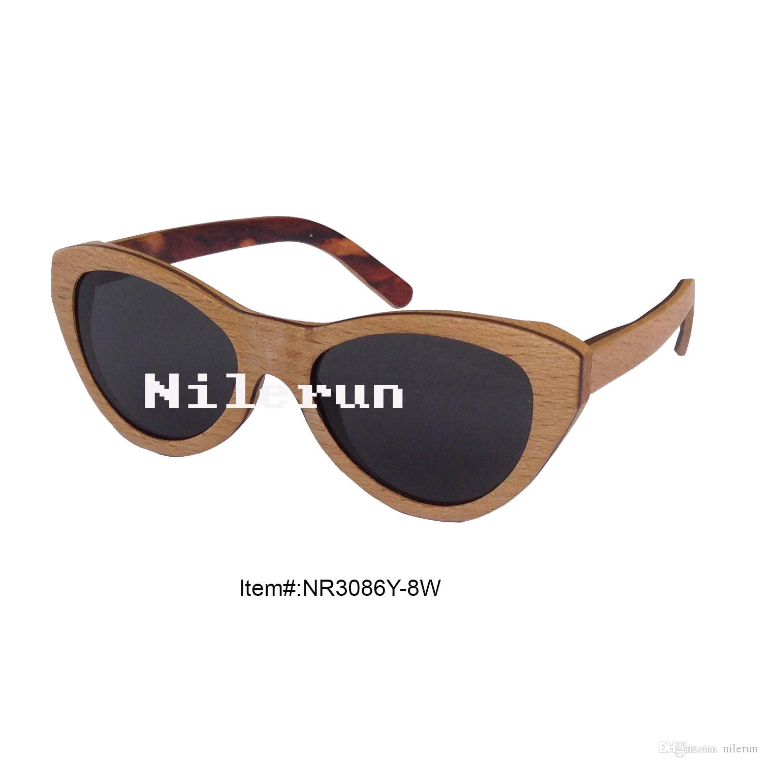 8acee3a72098 Fashion classic cat eye wooden frame sunglasses cat eye wood jpg 1502x1502  Wooden frame sunglasses