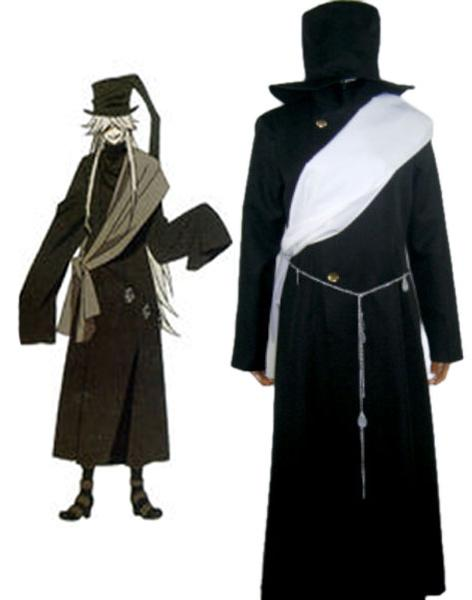 Black Butler Kuroshitsuji Grim Reapers Undertaker Uniform Cosplay