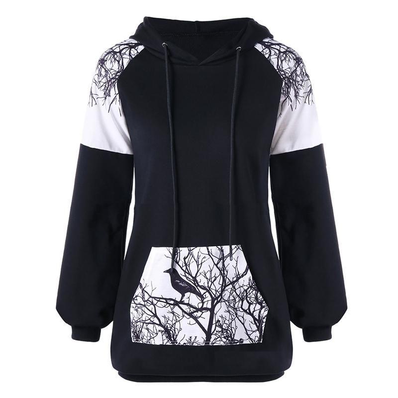 online store 34618 f4d79 Frauen Kapuzen Laufjacke Langarm Sweatshirt Damen Yoga Sport Piecing Druck  Reißverschluss Jacke Fitness Gym Shirts Coat