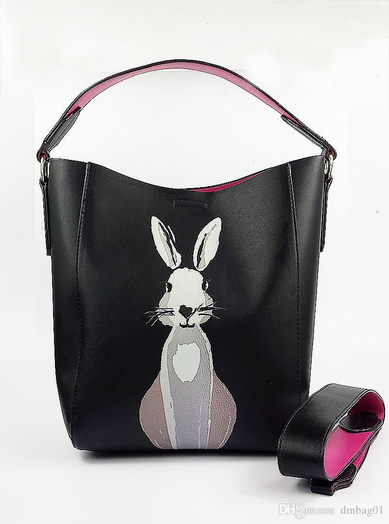 410570a98dcc7 Pink Sugao Designer Bags For Women Luxury Handbags Pu Leather Cartoon Women  Shoulder Famous Brand Purses Tote Bag Drawstring Shoulder Bags Handbags On  Sale ...