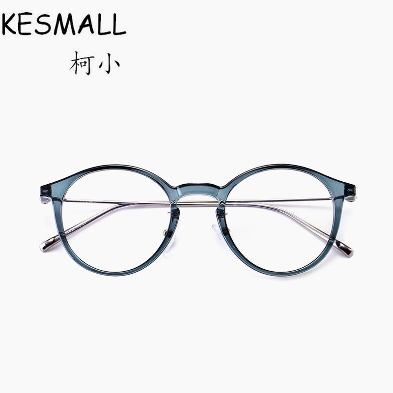 3c1bd03967 2018 Kesmall 2018 New Retro Optical Glasses Frame Women Men Fashion Myopia  Eyeglasses Frames Transparent Color Vintage Eyewear Yj1081 From Goodlines