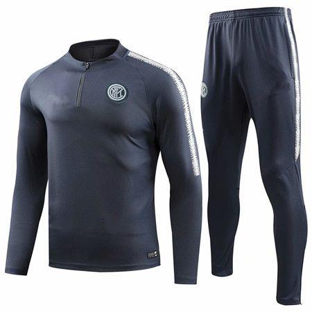 6fb5fe4a3 2019 2018 2019 9  ICARDI Soccer Training Suit 18 19 14  NAINGGOLAN 10   LAUTARO 37  SKRINIAR 44  PERISIC Tracksuit Football Tracksuit Sweatshirt  From Mili303 ...
