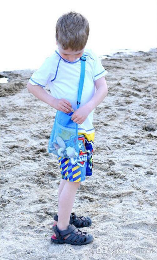 Дети Пляж Игрушки Получают Мешок Сетки Песочницы Прочь Все Песок Ребенка Песочница Хранения Оболочки Чистый Песок От Пляжа Сетки Мешок