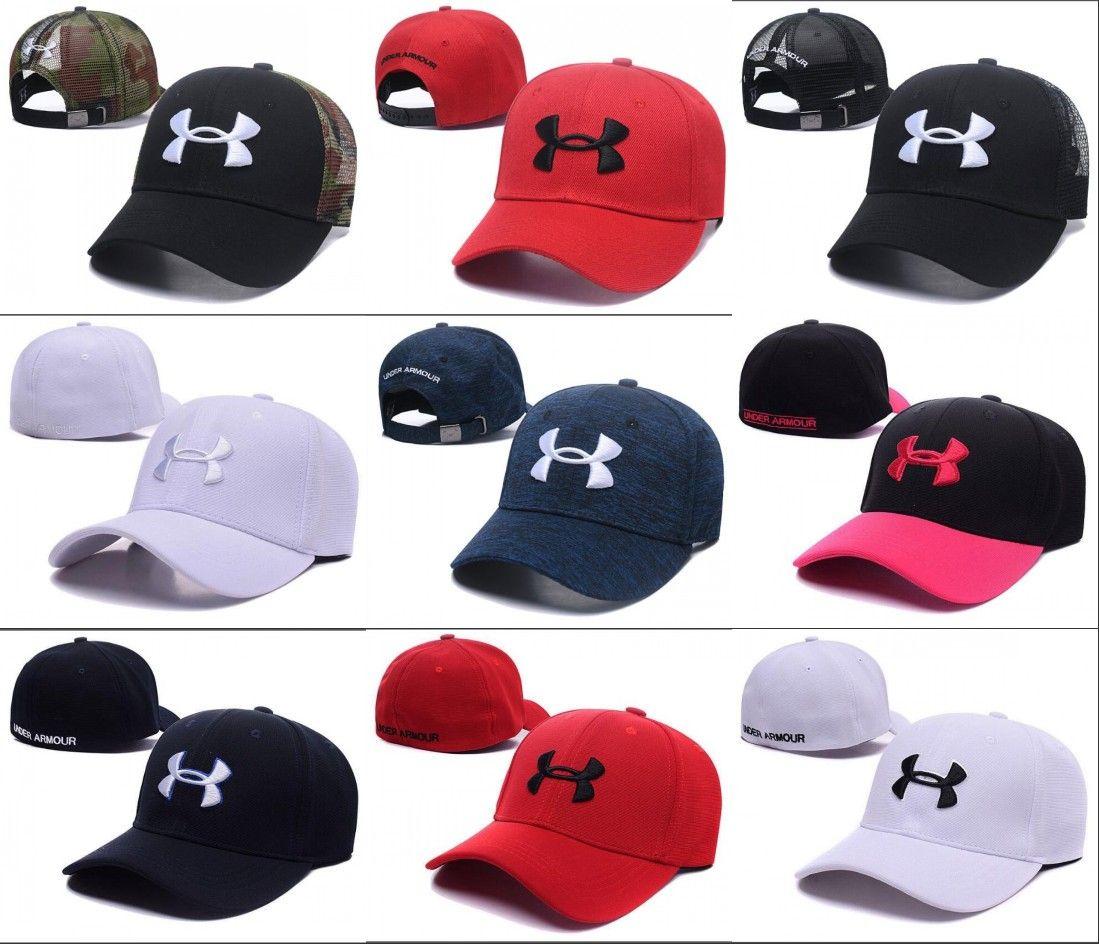 2018 Fashion Brand UA Snapback Caps Casquette Adjustable Hats Football Men  Women Hip Hop Fitted Basketball Baseball Hat Street Dancing Bone UA Snapback  ... c05fc154d7ae